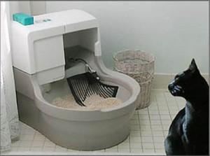 bandeja autolimpiante para gatos