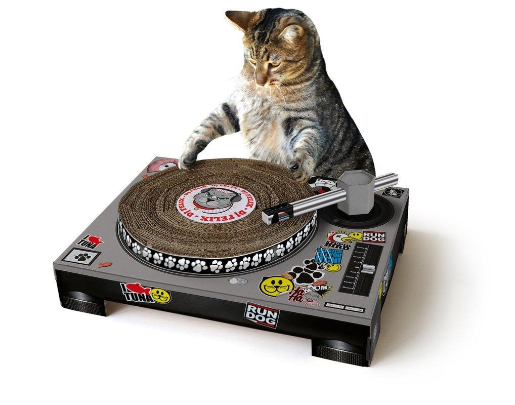 catscratch rascador tocadistos para gatos