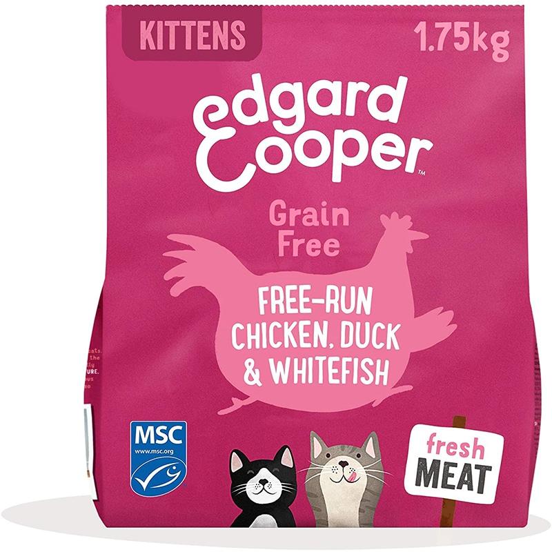 Edgard & Cooper pienso Gatos Kitten SIN Cereales