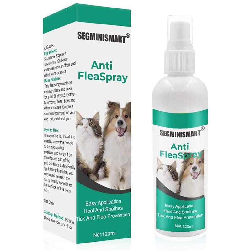 Spray antipulgas y garrapatas para gatos